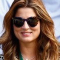 mirka federer watches semifinal