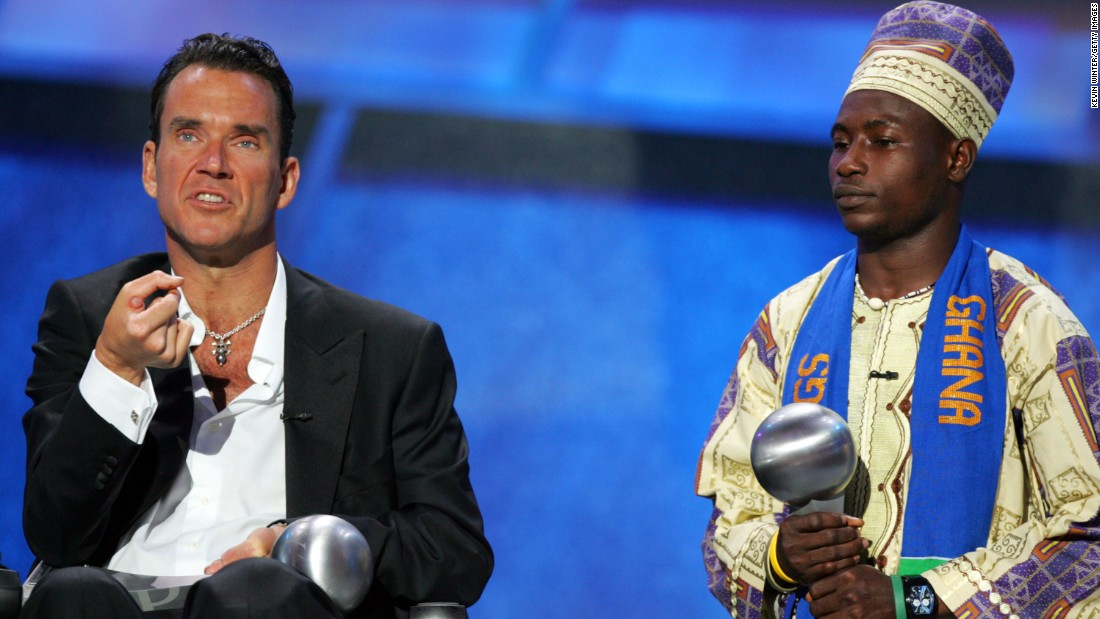 "<strong>Jim MacLaren</strong>, left, and<strong> Emmanuel Ofosu Yeboah</strong> were honored in 2005 with the Arthur Ashe Courage Award for their perseverance, <a href=""http://espn.go.com/espys/arthurasheaward"" target=""_blank"">according to the ESPY's website</a>.  MacLaren survived two near fatal accidents, leaving him at first an amputee and eight years later, a quadriplegic. MacLaren was at one time the world's fastest amputee triathlete, completing a marathon in three hours and 16 minutes, according to <a href=""http://triathlon.competitor.com/2010/08/news/athlete-and-amputee-jim-maclaren-dies-at-47_11970"" target=""_blank"">Triathlete</a>. Emmanuel's Gift, a documentary about Yeboah's experience cycling over 600 kilometers after being born with a deformed right leg, was released in 2005."