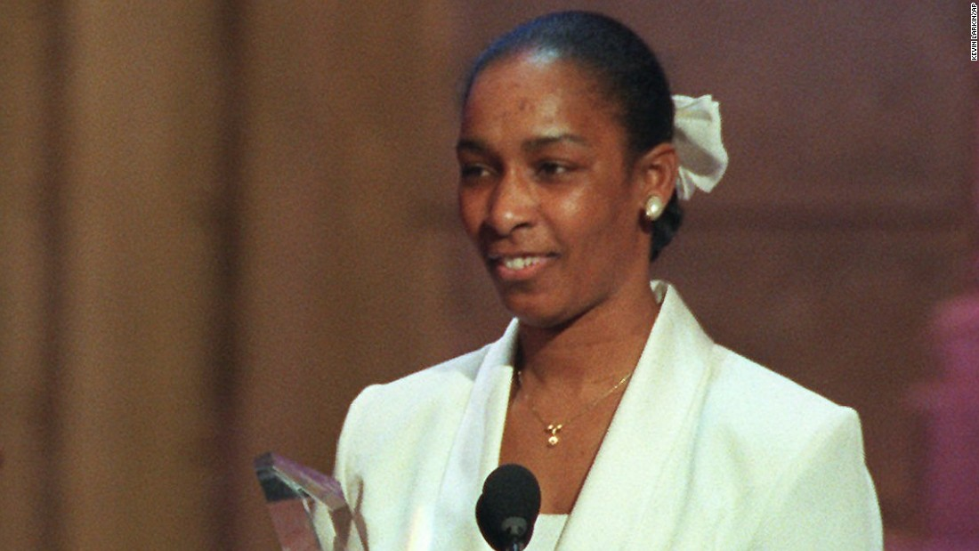 "<strong>Loretta Claiborne</strong> received the 1996 award. She was a Special Olympics athlete who competed in many different sporting events.  She has awards in track, bowling and figure skating, <a href=""http://www.lorettaclaiborne.com/accomplishments/"" target=""_blank"">according to her website</a>. As a member on the Special Olympics board of directors and a public speaker, she advocates for others with disabilities and has been invited to the White House four times."