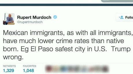 Rupert Murdoch Trump immigration wrong_00001007