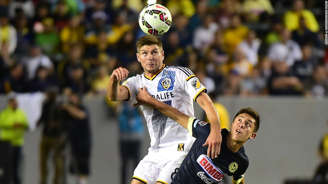 Steven Gerrard began his new adventure in Major League Soccer with a 45 minute showing for Los Angeles Galaxy on Sunday. The former Liverpool captain, who spent 17 years at Anfield, played in the 2-1 win over Mexican side Club America.