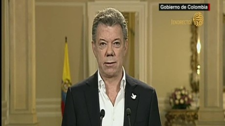cnnee the peace process farc santos _00002817