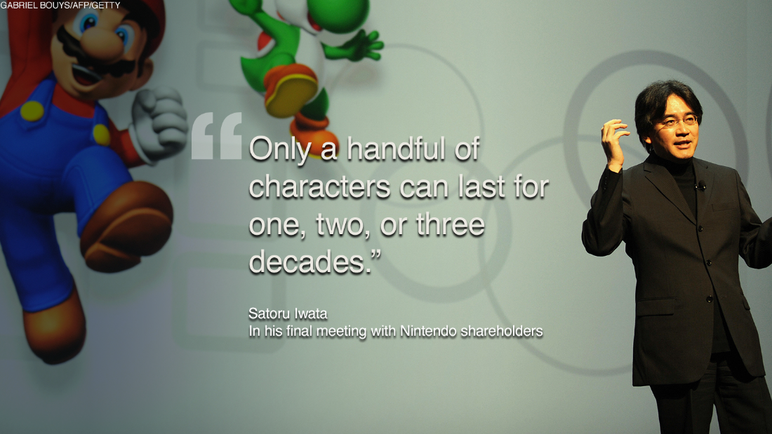 In a brief statement Sunday, Nintendo announced that the widely adored executive passed away from a bile duct tumor. He was 55.