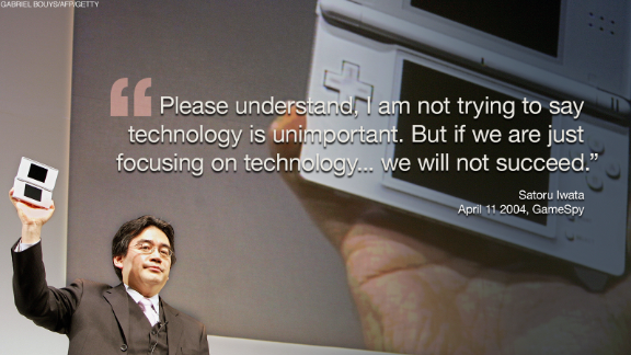 Iwata also caught up with rapidly changing trends in the industry and had been moving the company into mobile gaming to shape Nintendo