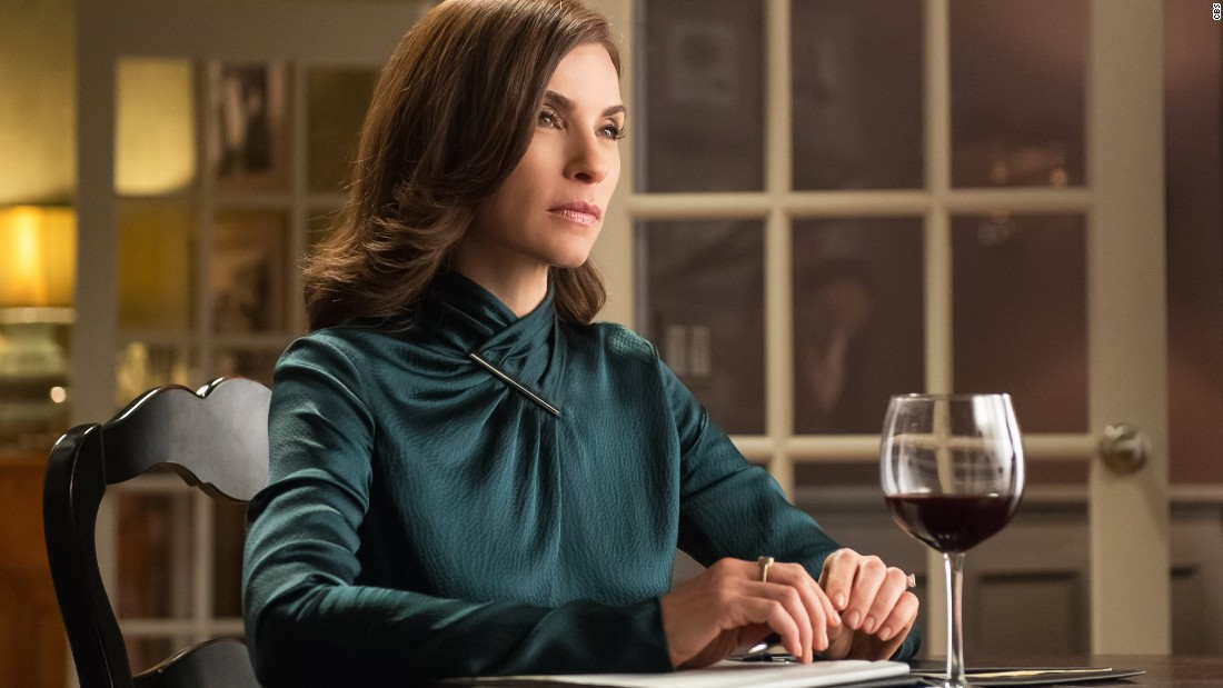 "Julianna Margulies scored a nomination for outstanding female actor in a lead role in a TV drama for ""The Good Wife."" Other nominees were Claire Danes (""Homeland""), Viola Davis (""How to Get Away With Murder""), Maggie Smith (""Downton Abbey"") and Robin Wright (""House of Cards"")."