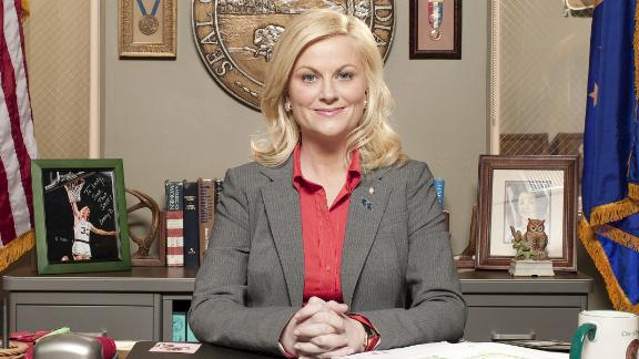 """Amy Poehler as Leslie Knope on """"Parks and Recreation."""""""