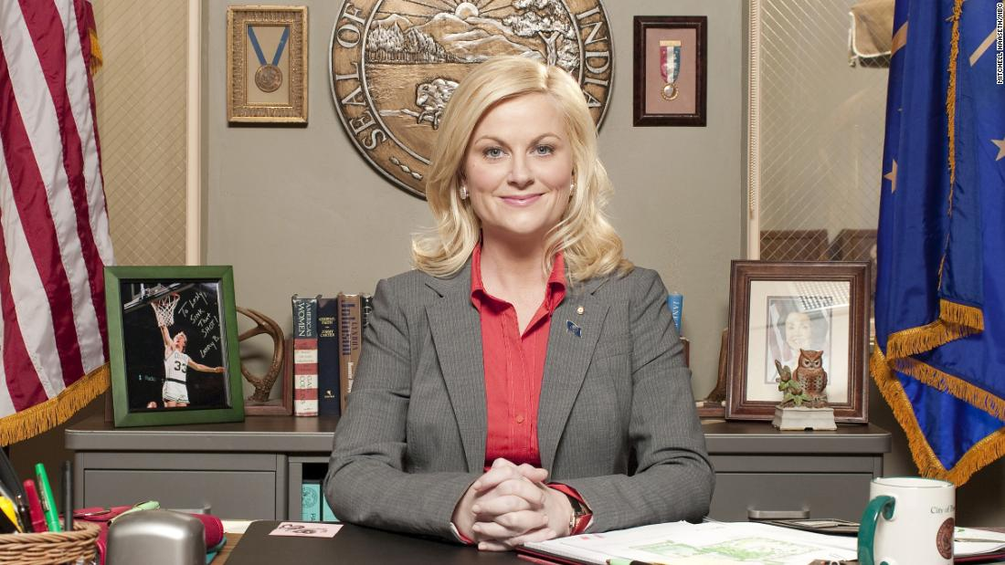 Amy Poehler is ready for a 'Parks and Recreation' reboot