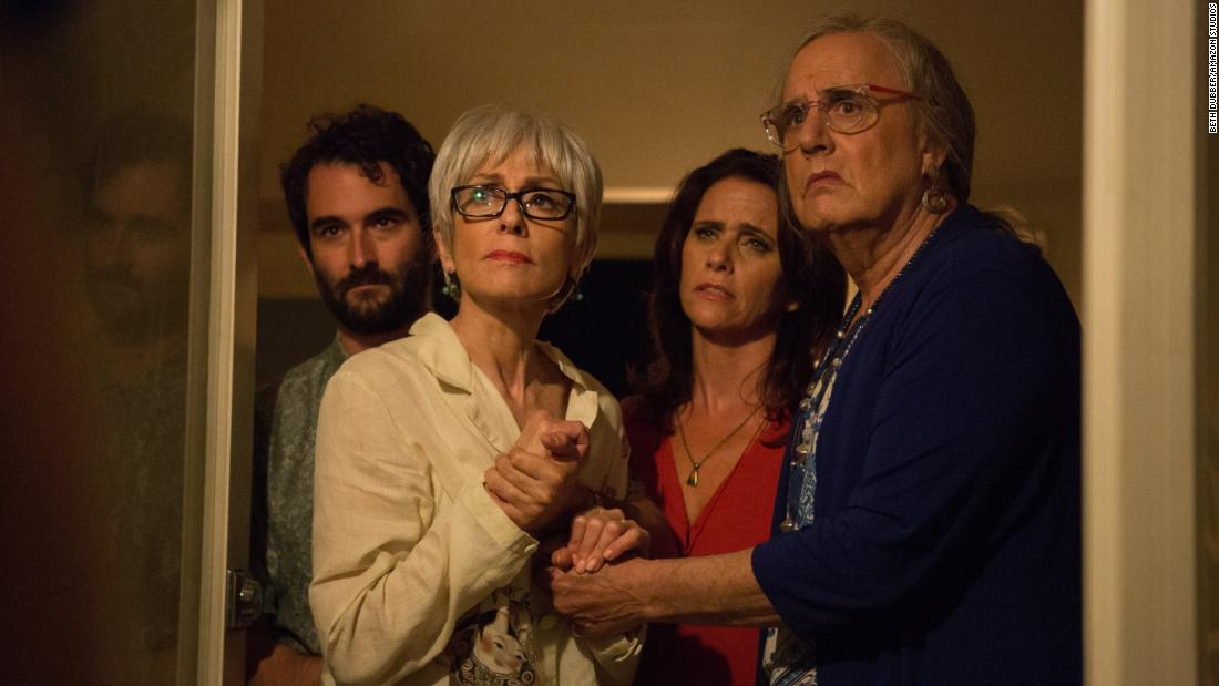 """Transparent"" was nominated for outstanding performance by an ensemble in a comedy series. The casts of ""The Big Band Theory,"" ""Modern Family,"" ""Key & Peele,"" ""Veep"" and ""Orange Is the New Black"" were also nominated."
