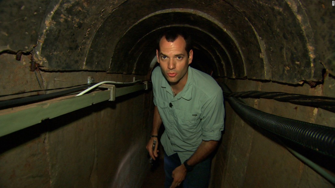 Israel Defense Forces took CNN correspondent Oren Liebermann into an elaborate Palestinian tunnel.