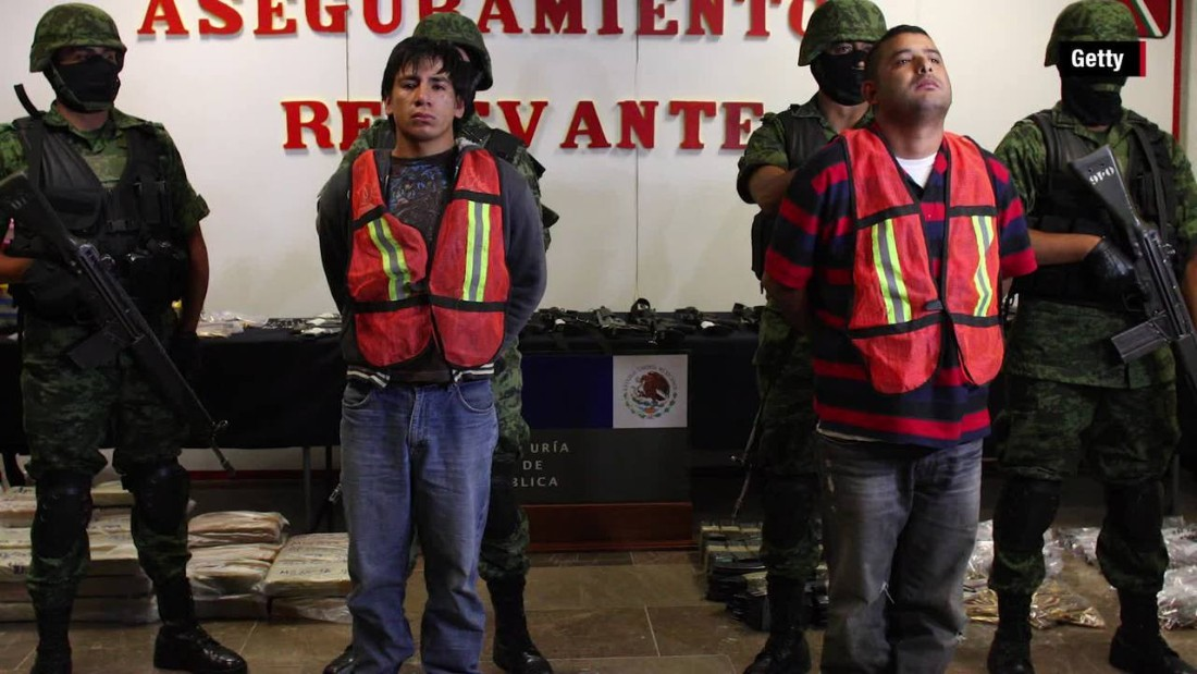 Mexico's most dangerous drug cartels
