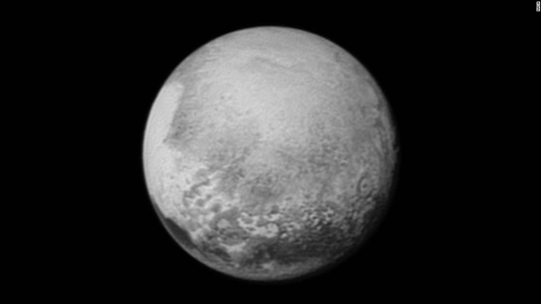 This image of Pluto was captured by New Horizons on July 12. The spacecraft was 1.6 million miles from Pluto at the time.