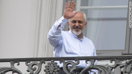 Iranian Foreign Minister Mohammad Javad Zarif  in July 2015.