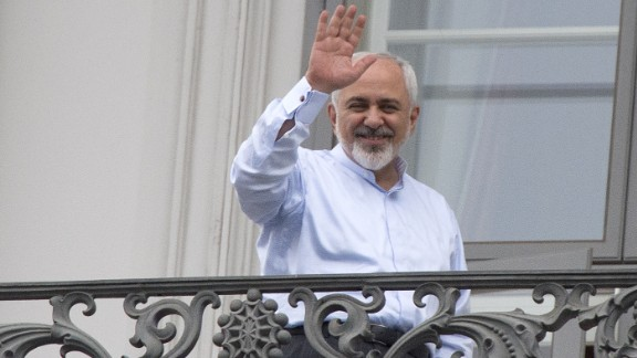 Iranian Foreign Minister Mohammad Javad Zarif was his country's chief negotiator.