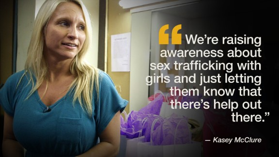 """Kasey McClure uses her past experience working in the strip clubs, as motivation for her volunteer organization, <a href=""""http://www.4sarah.net/"""" target=""""_blank"""" target=""""_blank"""">4Sarah</a>. She visits Atlanta-area clubs, providing gift bags and a sympathetic ear to those who may be thinking of leaving the profession."""