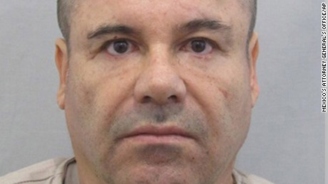 Why was 'El Chapo' Guzman was held in Mexico?