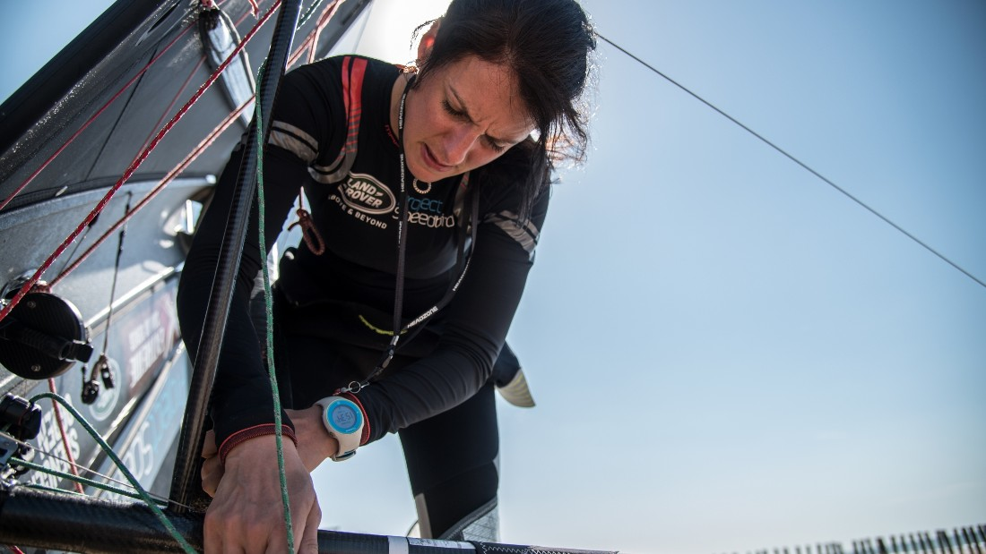 White feels like she has been on a crash-course with regards to the science behind her boat and the record attempt.