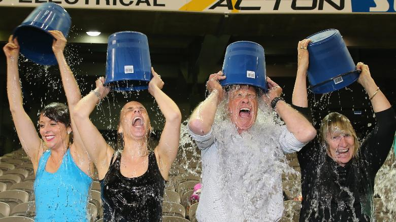 One year later, your ALS Ice Bucket money goes to...
