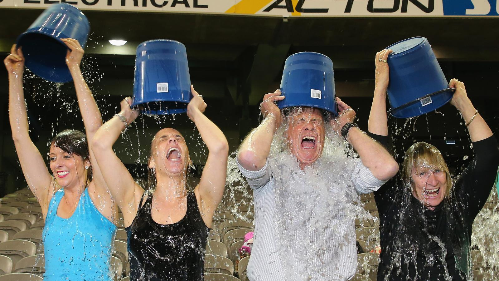 one year later your als ice bucket money goes to cnn