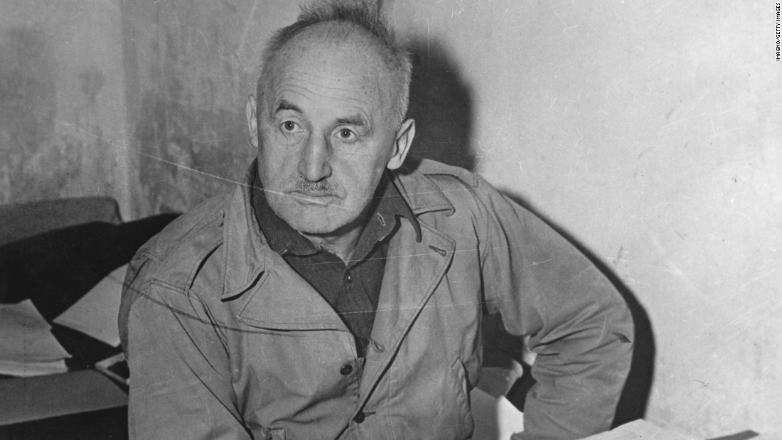 Nazi propagandist Julius Streicher was a key voice of anti-Semitism in pre-war Germany as the founder and publisher of Der Stürmer newspaper. He was tried at Nuremberg, convicted of crimes against humanity and executed in 1946.