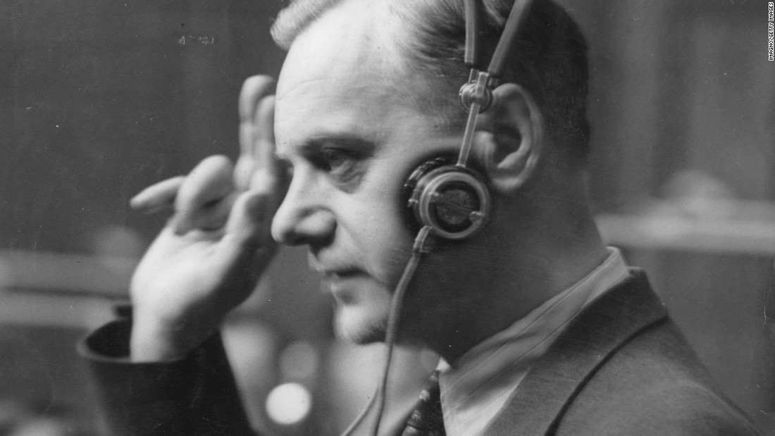 A key early supporter of Hitler, Alfred Rosenberg went on to become the minister responsible for eastern territories occupied by the Nazis -- where most of the death camps were located. Tried at Nuremberg, he was found guilty of conspiracy to commit aggressive warfare, crimes against peace, war crimes and crimes against humanity in 1946. He was sentenced to death and hanged.