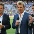 Brett Lee commentating