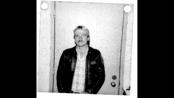 The booking photo of Randy Steidl in 1986.