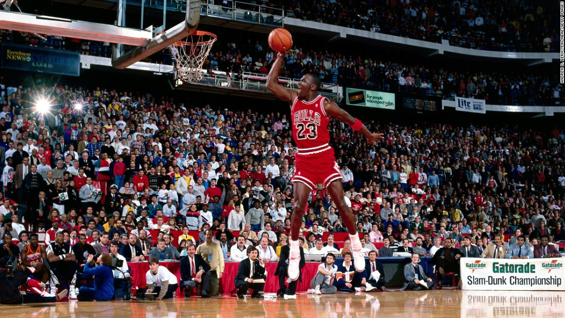 Basketball legend Michael Jordan was the face of Nike in the 1980s, and his Air Jordan shoe line helped grow the company into a global giant.