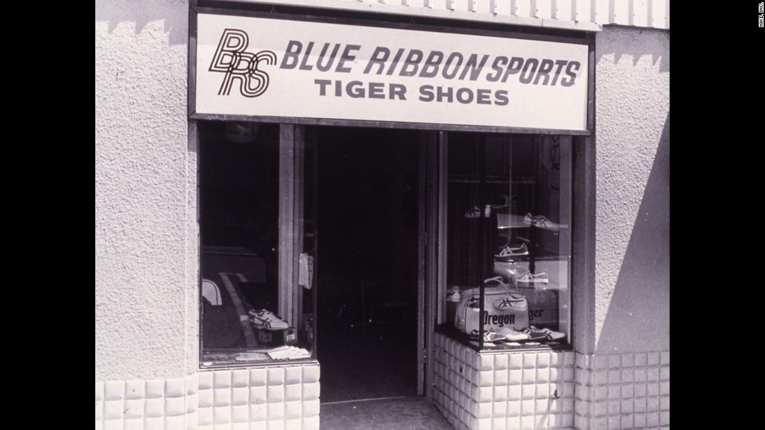 Nike started as Blue Ribbon Sports in the 1960s. The retail store distributed Onitsuka Tiger shoes, which are now known as Asics.
