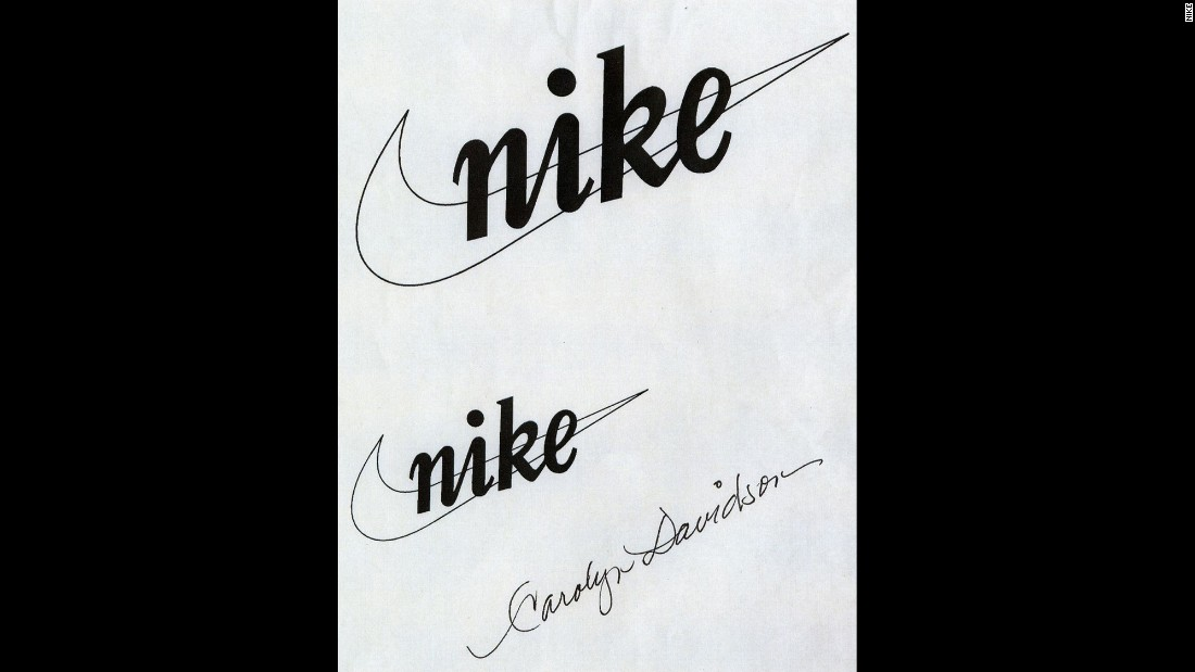 "Blue Ribbon Sports began making its own shoes, and it launched the Nike brand in the early 1970s.  These are the first designs of Nike's trademark stripe, which is now known as the ""swoosh."" The ""swoosh"" was created in 1971 by Carolyn Davidson, a graphic design student from Portland State University in Portland, Oregon. Knight had been teaching an accounting class there on the side, and he paid Davidson $35 for her work. Years later she was also given stock in the company."