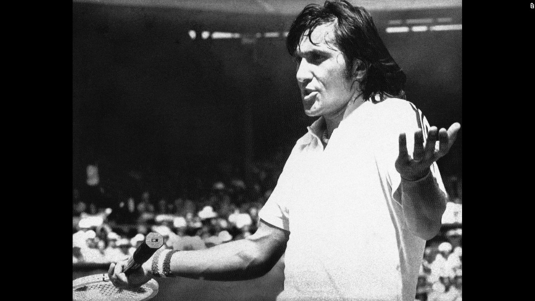 "In 1972, Romanian tennis star Ilie Nastase was the first major athlete to sign an endorsement deal for Nike shoes. The name ""Nike"" comes from the Greek goddess of victory."