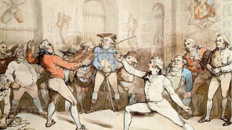 From sword-fighting to a sport: the history of fencing