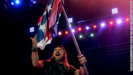 Singer Johnny Van Zant of Lynyrd Skynyrd performs onstage during day 1 of 2014 Stagecoach: California's Country Music Festival at the Empire Polo Club on April 25, 2014 in Indio, California.  (Frazer Harrison/Getty Images for Stagecoach/Getty Images)