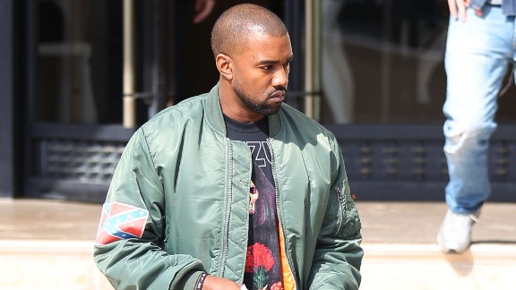 """Kanye West has wrapped himself in the flag and worn flag decals. """"I took the Confederate flag and made it my flag. It's my flag now. Now what you gonna do?"""" he told a Los Angeles radio station."""