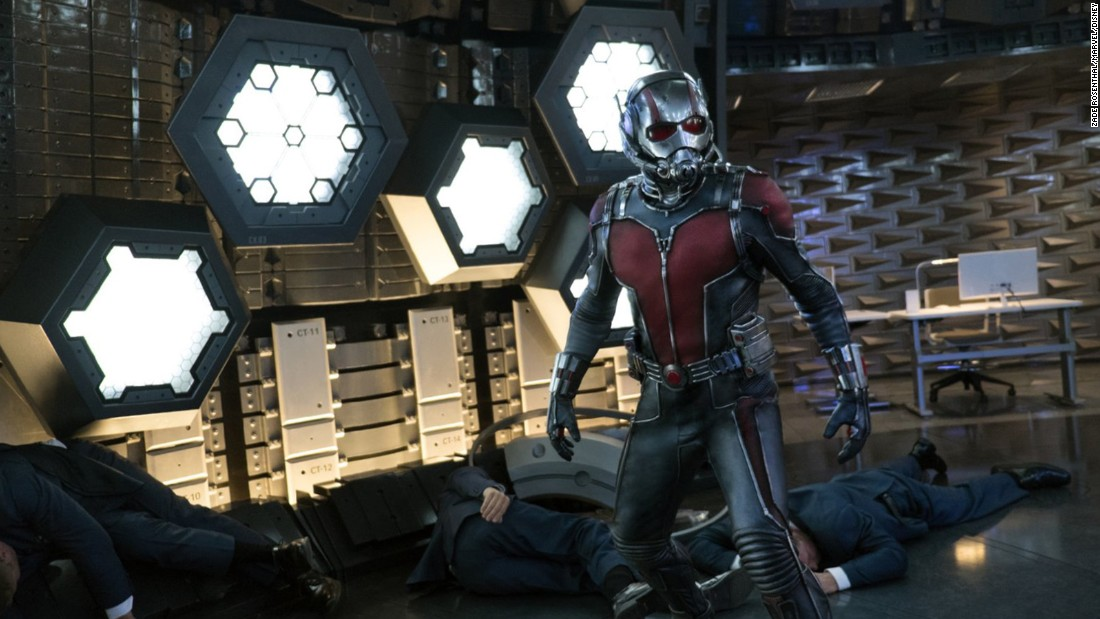 """Ant-Man,"" with the power to shrink down to the size of, well, an ant, has been a part of Marvel Comics for over 50 years. He (in the person of Paul Rudd) finally made his movie debut in 2015."