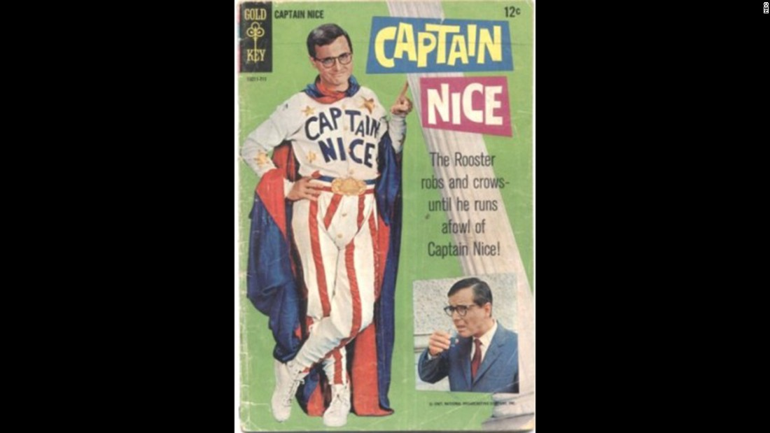 "It didn't last long, but the 1960s sitcom ""Captain Nice,"" starring William Daniels, is still remembered by vintage TV fans."