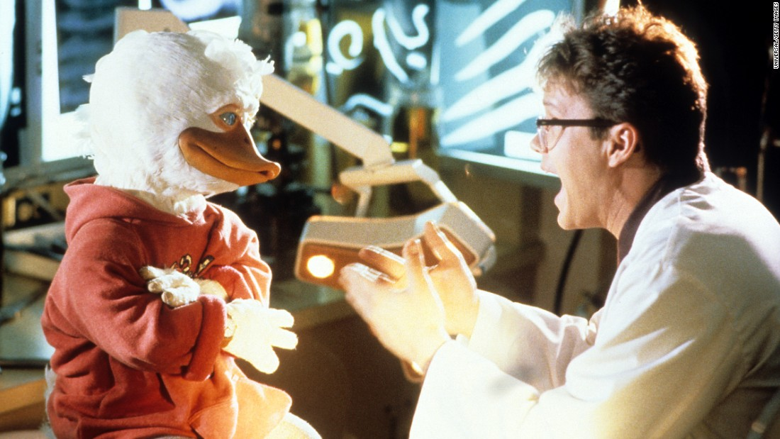 "The film adaptation of ""Howard the Duck"" was one of the biggest box office bombs of the 1980s, though he made a triumphant comeback in a ""Guardians of the Galaxy"" cameo."