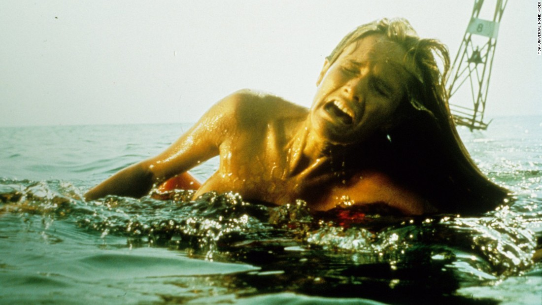 "The combination of a nighttime attack with Susan Backlinie's <a href=""https://www.youtube.com/watch?v=yrEvK-tv5OI"" target=""_blank"">gut-wretching screams and sobs</a> helped get Steven Spielberg's 1975 blockbuster ""Jaws"" off to a terrifying start."