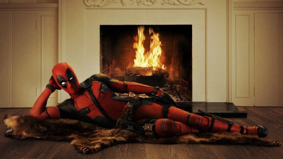 """""""Deadpool"""": There has never been quite a superhero like Ryan Reynolds in this comic book film. (HBO Now)"""