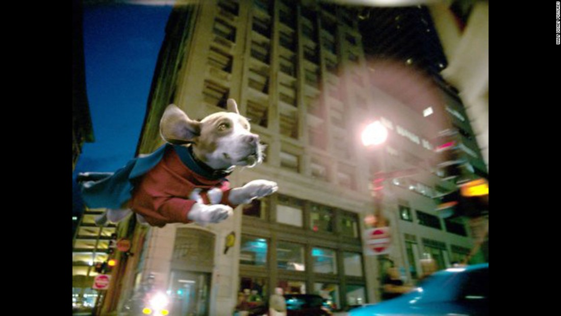 "1960s cartoon fans loved ""Underdog,"" which was made into a live-action movie in 2007."