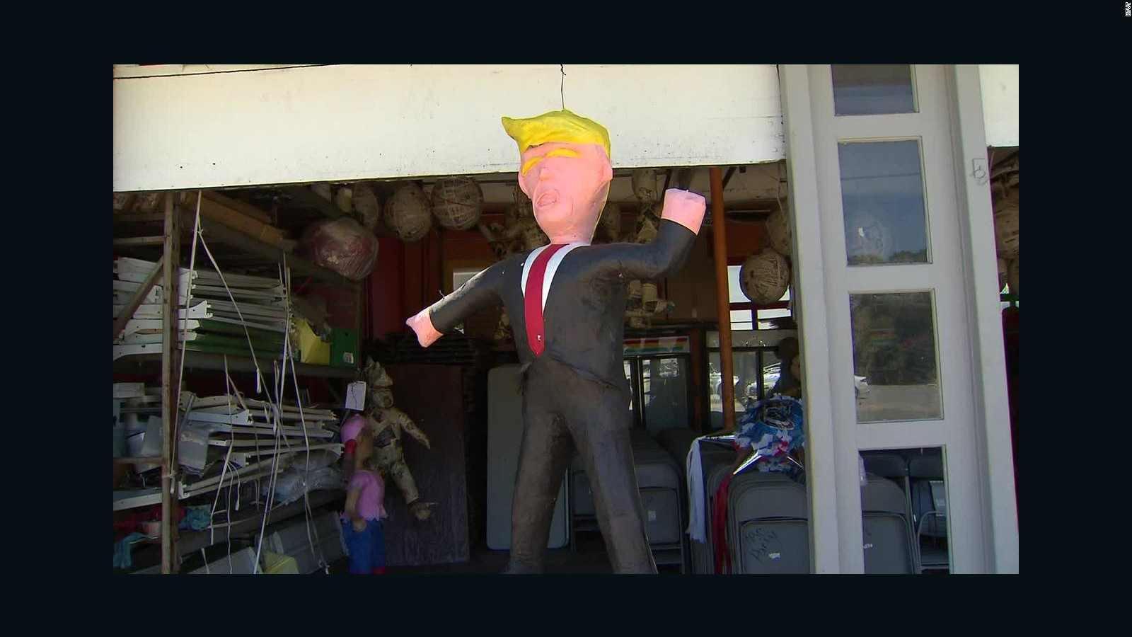 Would you buy a Donald Trump piñata? - CNN Video