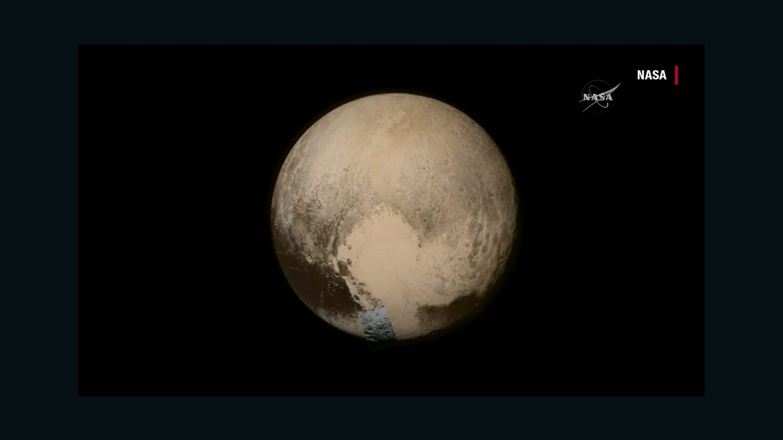 07 >> NASA reveals new close-up images of Pluto - CNN Video