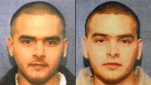 Pedro Flores, left, and his twin, Margarito Flores.