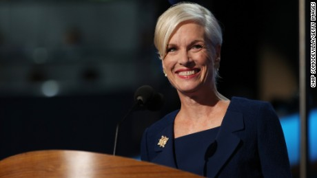 President of Planned Parenthood Federation of America Cecile Richards speaks during day two of the Democratic National Convention on September 5, 2012 in Charlotte, North Carolina.