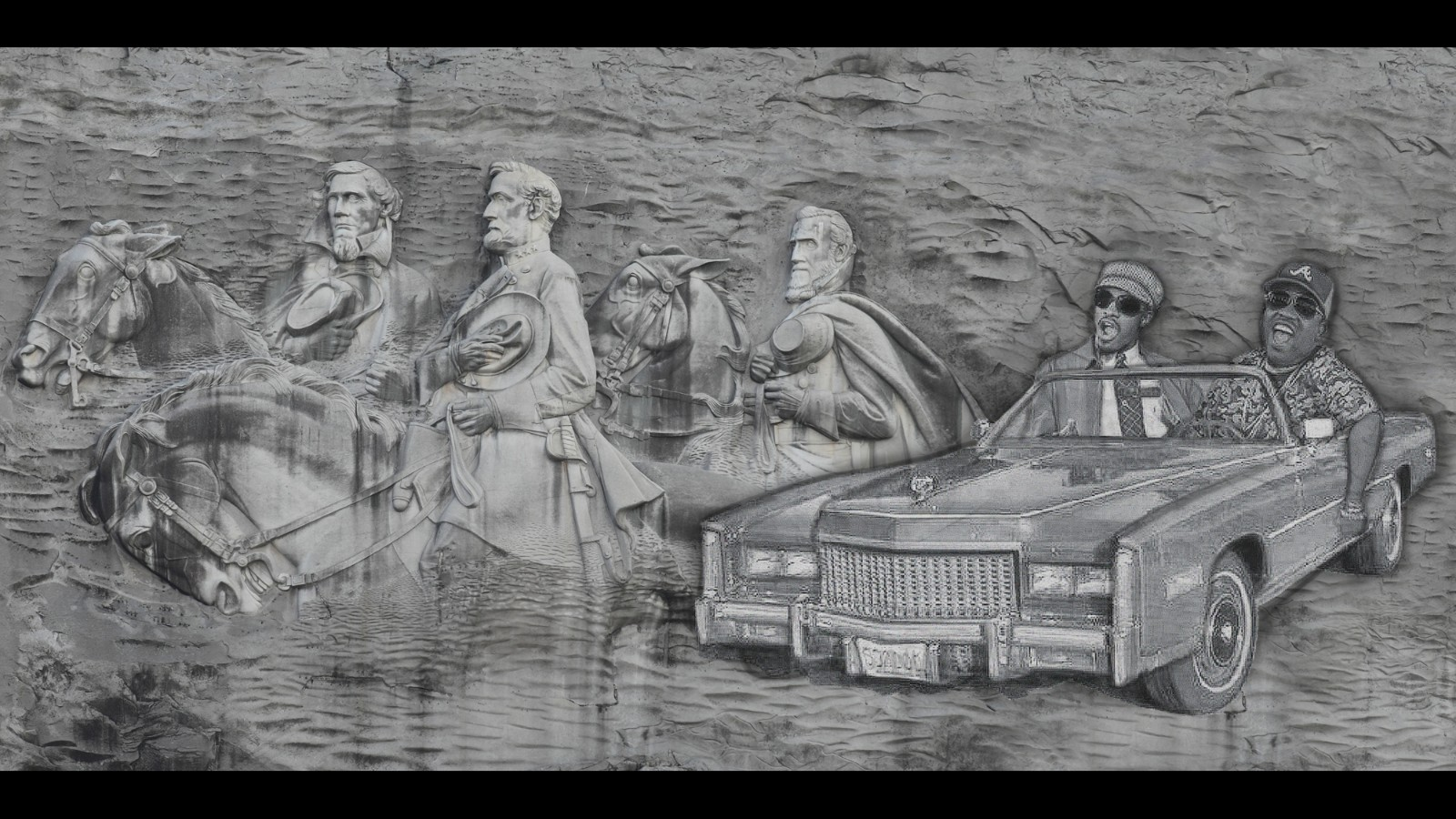 Abrams calls for removal of confederate carvings on stone mountain