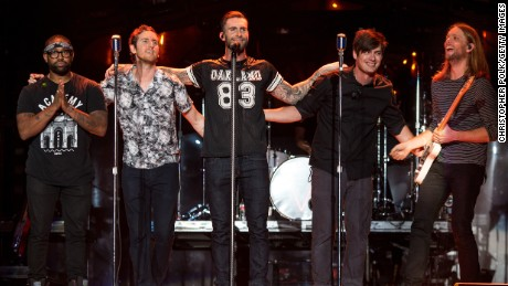Fans are upset Maroon 5 Super Bowl half-time show