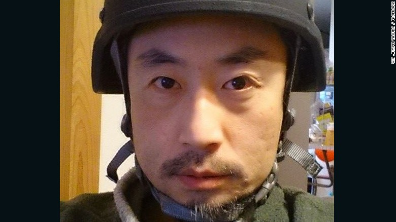 Japanese journalist Jumpei Yasuda went missing three years ago in Syria.