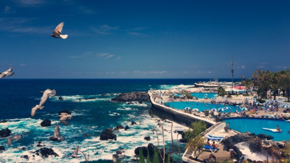 <strong>No.1 Small Airport: </strong>Tenerife North Airport, the smaller of two airports serving the Spanish island of Tenerife (pictured), is the only airport in the world to achieve a punctuality average of more than 90%.