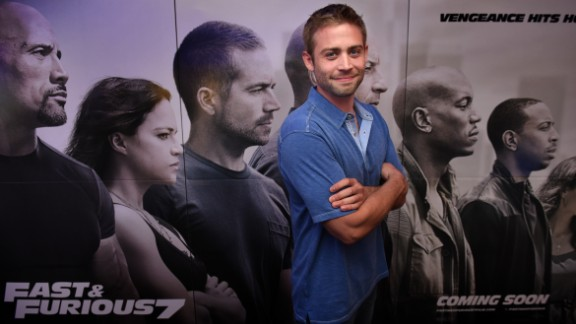 """Cody Walker, Paul Walker's brother, is following in his older sibling's footsteps by becoming a movie actor. Cody Walker was a stand-in for his brother, who died in an auto accident, in """"Furious 7."""" Click through to see more Hollywood siblings."""