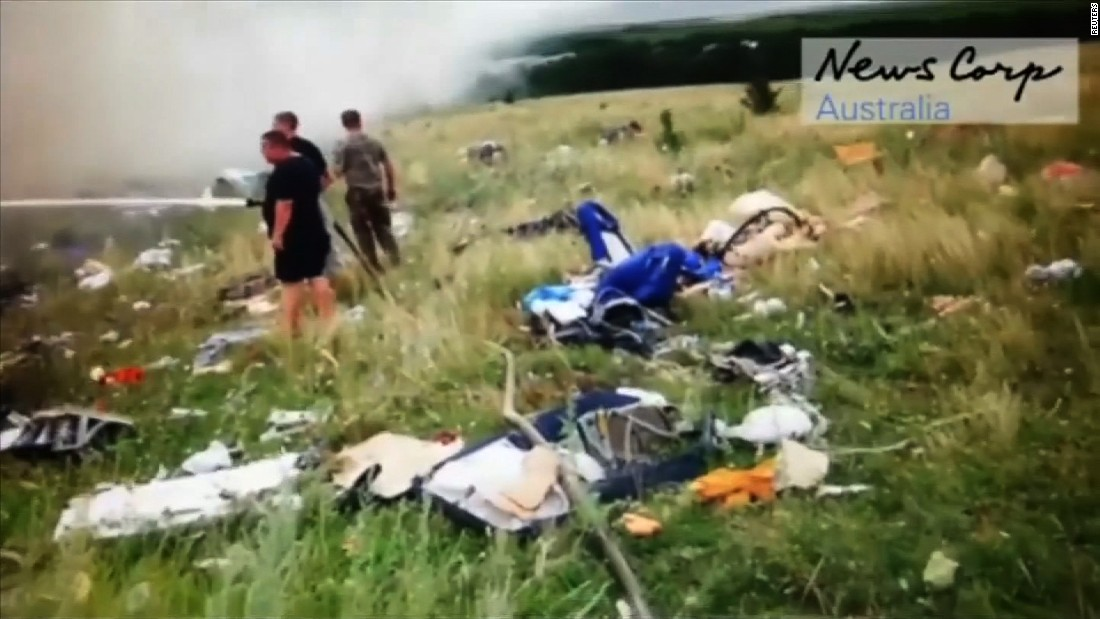 MH17 probe: Possible missile parts found