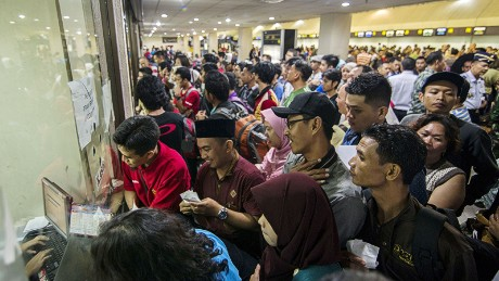 Thousands of passengers were stranded at the airports in Indonesia due to volcanic activities ahead of the Eid holiday.
